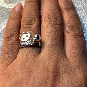 925 sterling silver ring ajustable size